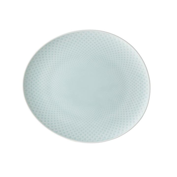 Junto plate Ø 22 cm flat, opal green by Rosenthal