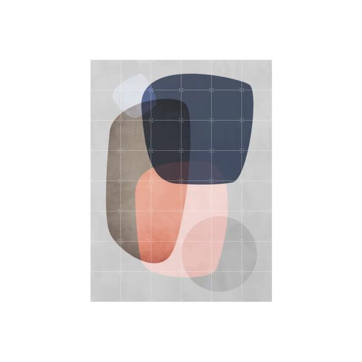 Graphic 189 C 120 x 160 cm by IXXI