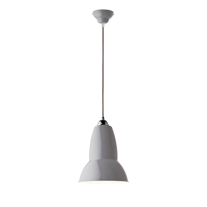 Original 1227 Midi pendant lamp, dove gray (cable: gray) by Anglepoise