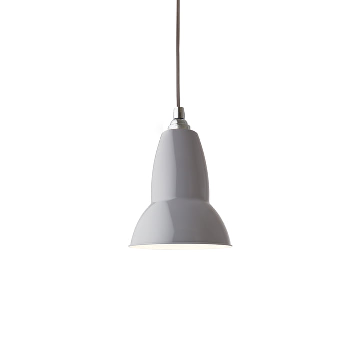 Original 1227 pendant light, dove gray (cable: gray) by Anglepoise