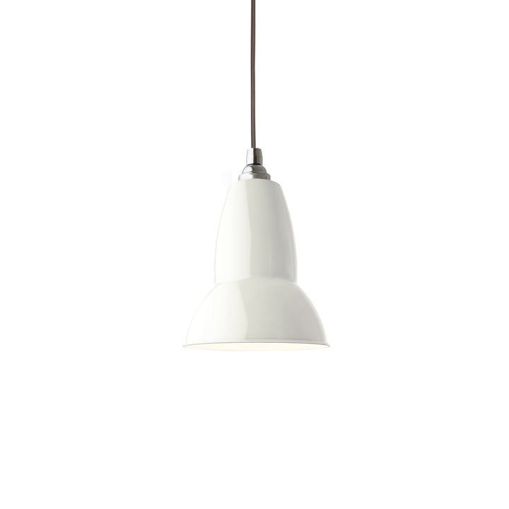 Original 1227 pendant lamp, linen white (cable: gray) by Anglepoise