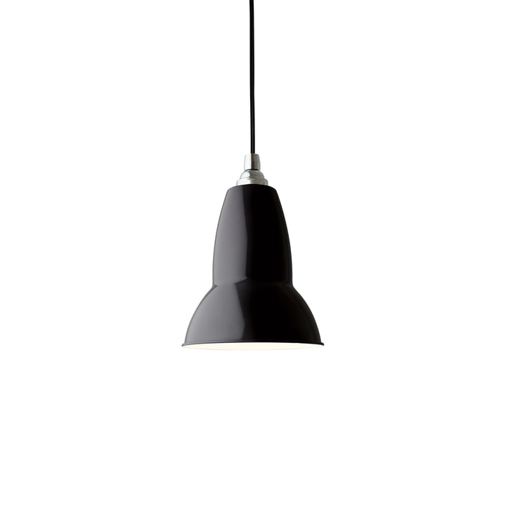 Original 1227 pendant lamp, jet black (cable: black) from Anglepoise