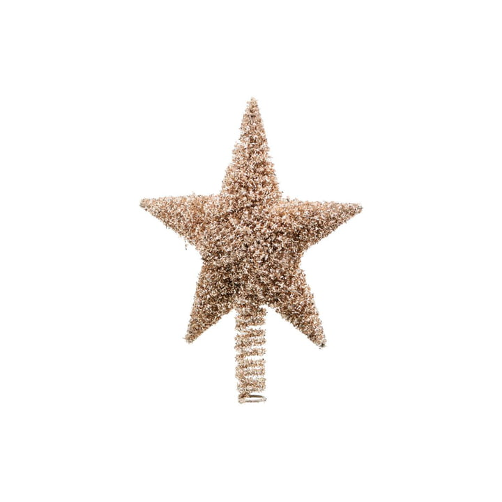 Christmas tree Joy 26 cm, gold by House Doctor