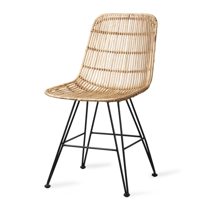 Rattan Dining chair, natural from HKliving