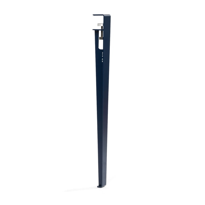 The table and desk TipToe H 75 cm, mineral TipToe by TipToe