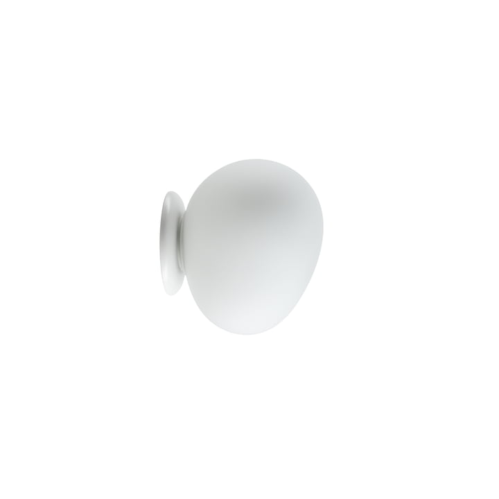 The Gregg wall and ceiling light LED, piccola / white by Foscarini