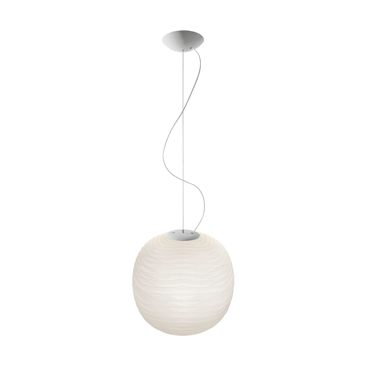 The Gem MyLight pendant lamp, white / white by Foscarini