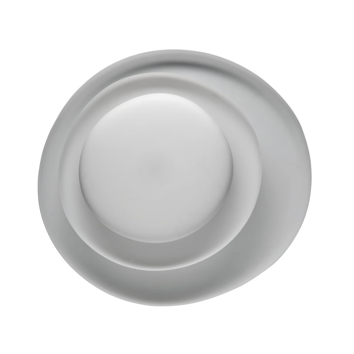 The Bahia LED wall and ceiling lamp, white (dimmable) by Foscarini