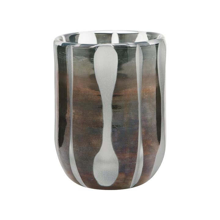 The Bai tealight holder, Ø 8 cm, gray by House Doctor