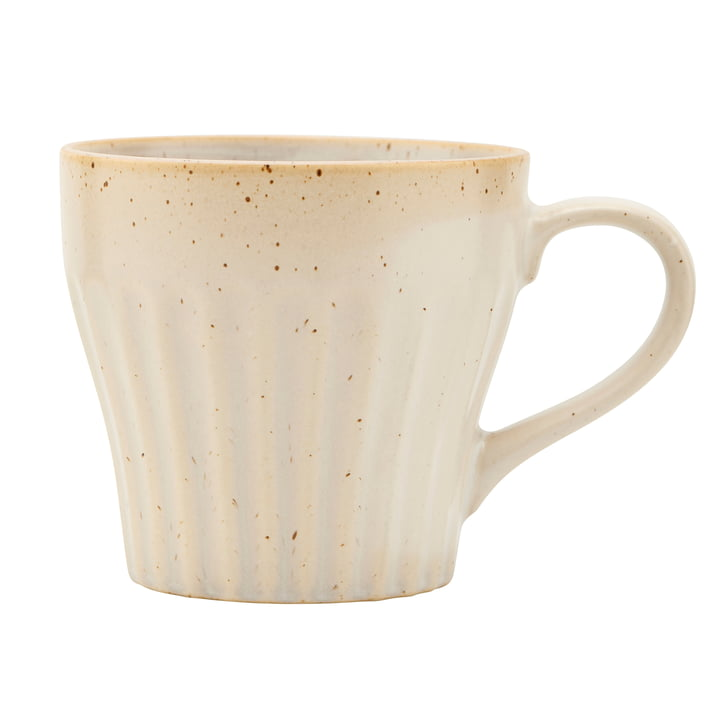 Mug with handle, Berica, beige by House Doctor