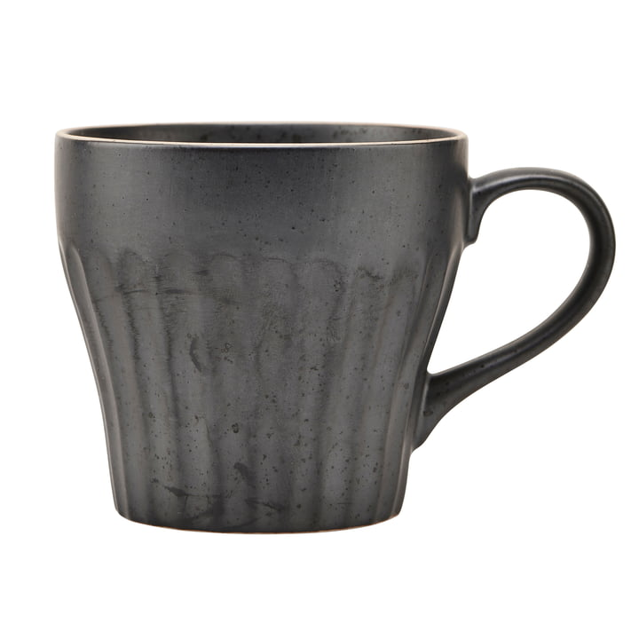 Mug with handle, Berica, black by House Doctor