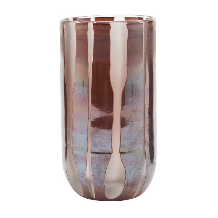 Vase Bai, Ø 8 x H 15.5 cm, brown by House Doctor