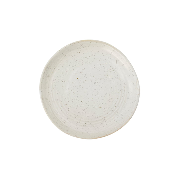 Cake plate Pion, Ø 16.5 cm, gray / white by House Doctor