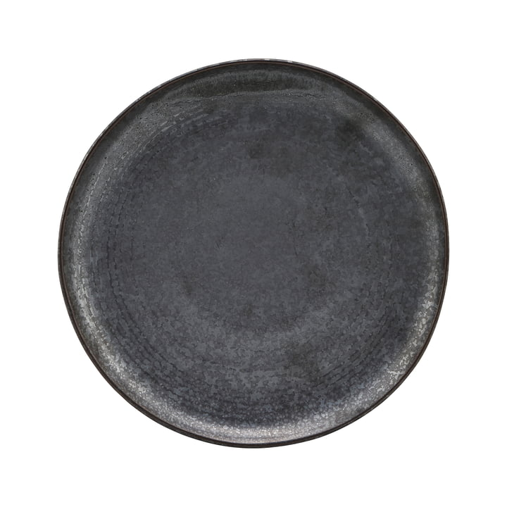 Pion plate, Ø 2 1. 5 cm, black / brown from House Doctor