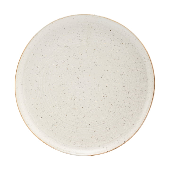 Plate Pion, Ø 28.5 cm, gray / white by House Doctor