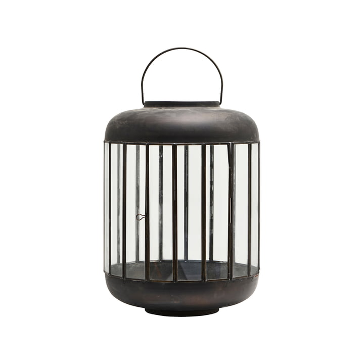The Pamal lantern H 42 cm, antique brown by House Doctor
