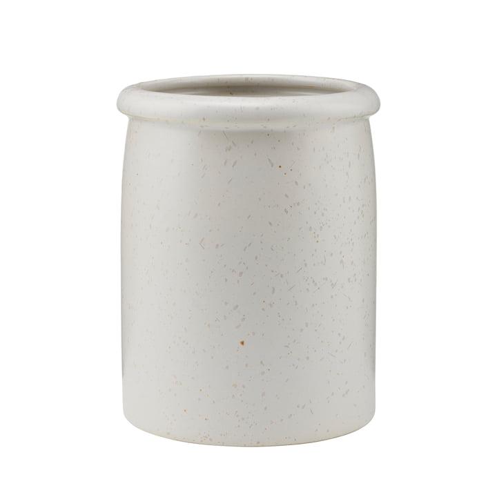 Pion utensil holder, gray / white by House Doctor