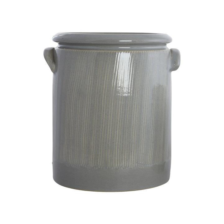 The Pottery flower pot, Ø 19 x H 24 cm, light gray by House Doctor