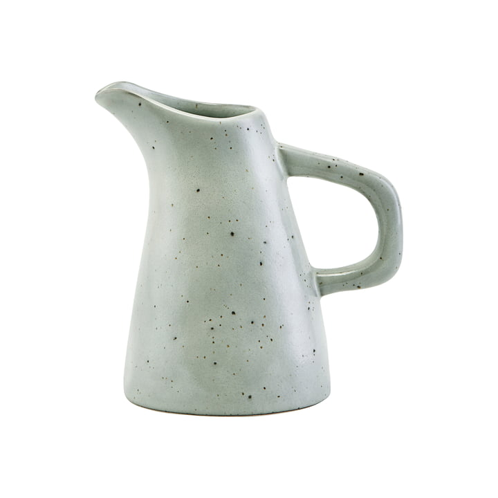 The Rustic jug H 11.8 cm, gray-blue by House Doctor