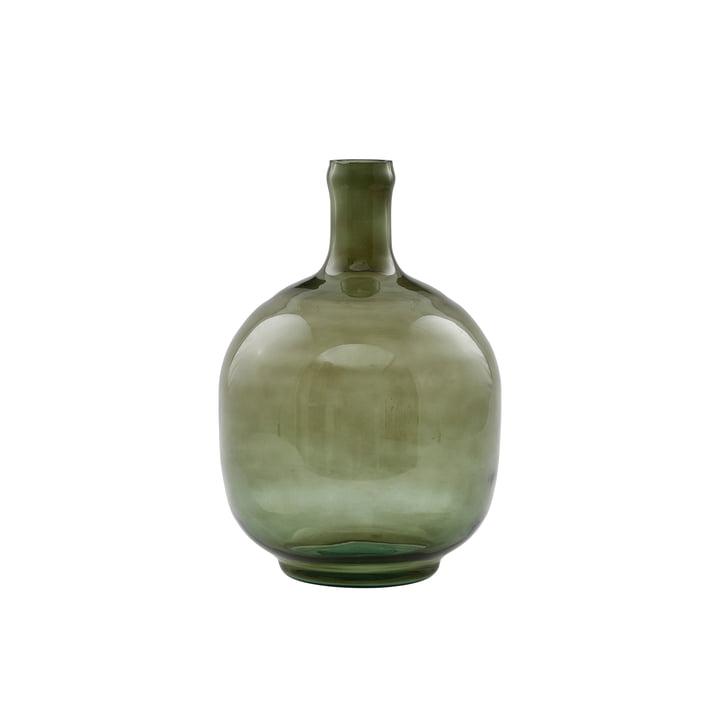 The Tinka vase, Ø 16.5 x H 23.5 cm, dark green by House Doctor