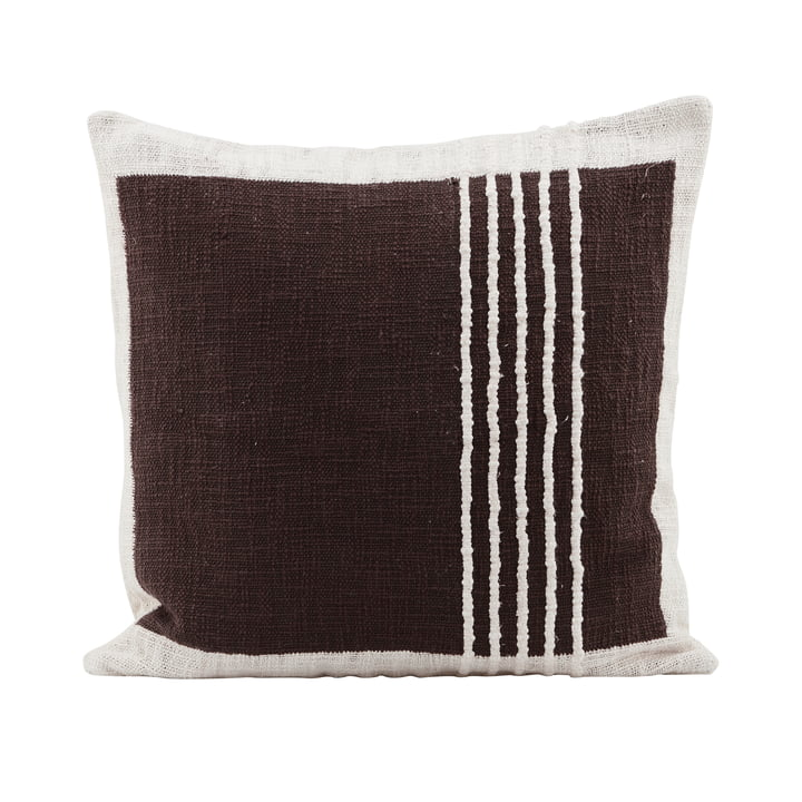 The Yarn pillowcase, brown by House Doctor