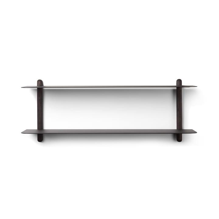 Nivo wall shelf F by Gejst in black