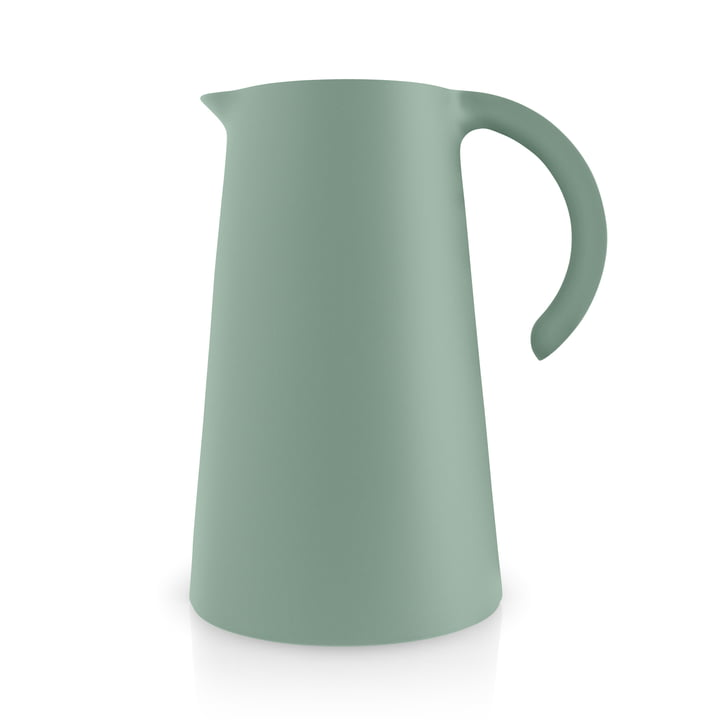 The Rise vacuum jug 1 l, faded green by Eva Solo