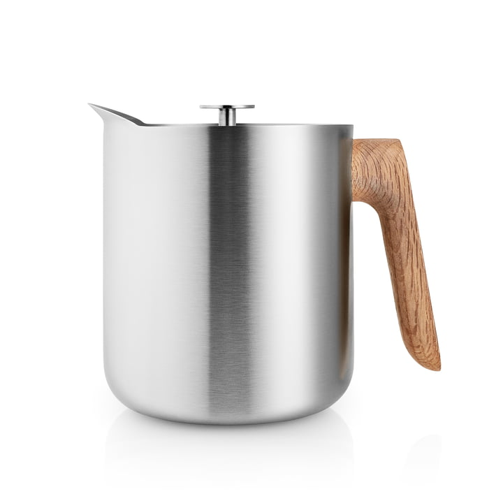 The Nordic Kitchen tea maker 1 l, stainless steel / oak by Eva Solo