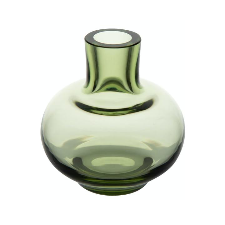 Mini vase Ø 5.5 x H 6 cm from Marimekko in moss green