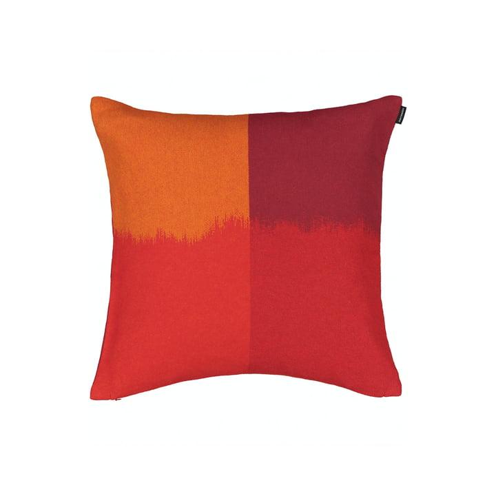 The Ostjakki pillowcase 50 x 50 cm, red / orange / brown by Marimekko