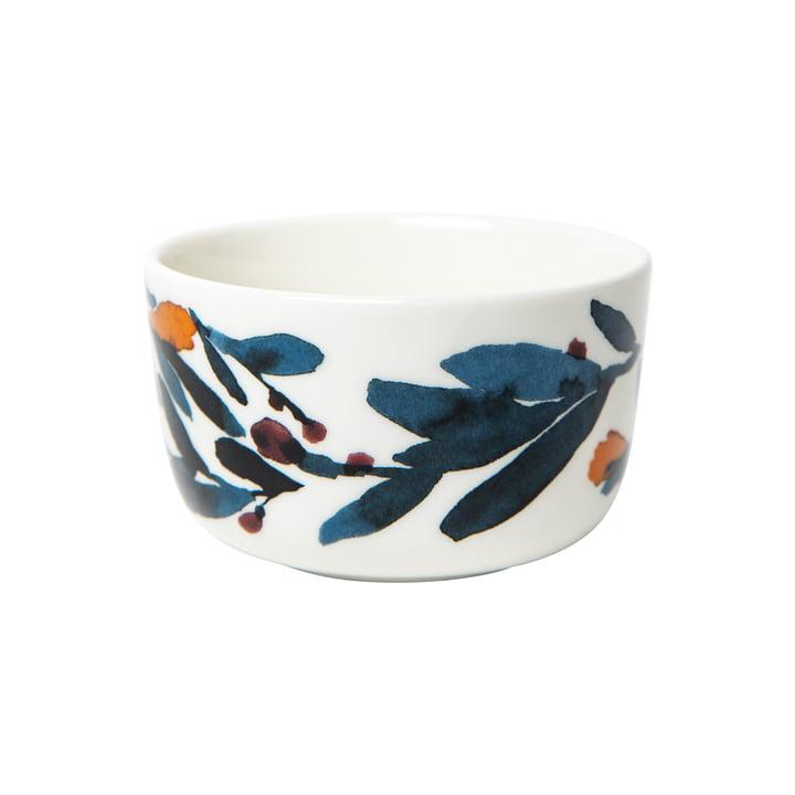 The Hyhmä bowl 250 ml, white / blue / red from Marimekko