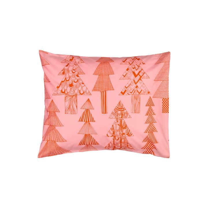 The Kuusikossa pillow case 50 x 60 cm, pink / red by Marimekko