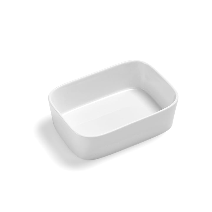 The Modula baking dish, 20 x 14 x 6 cm, white by Rosti