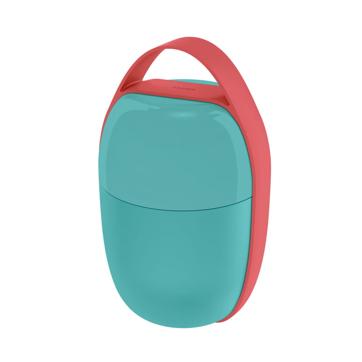 The Food à Porter Lunchpot, light blue of Alessi
