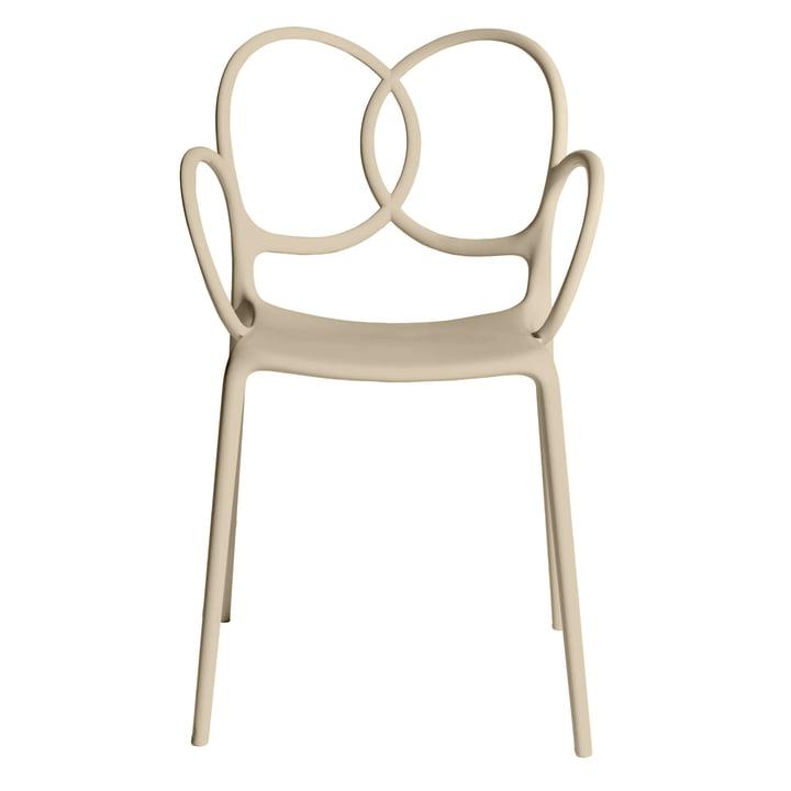 Sissi Armchair, beige by Driade