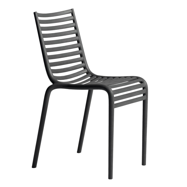 PIP-e chair, dark grey from Driade
