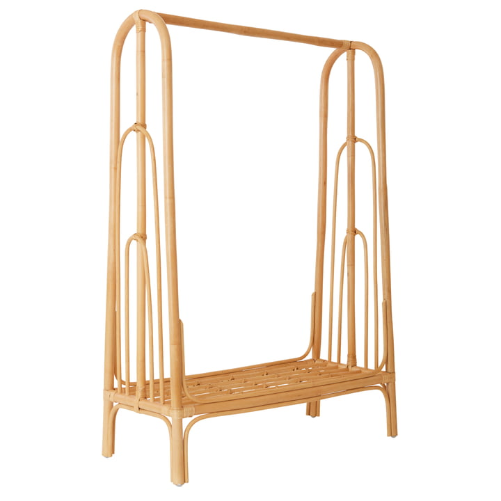 The Rainbow clothes rail, natural from OYOY