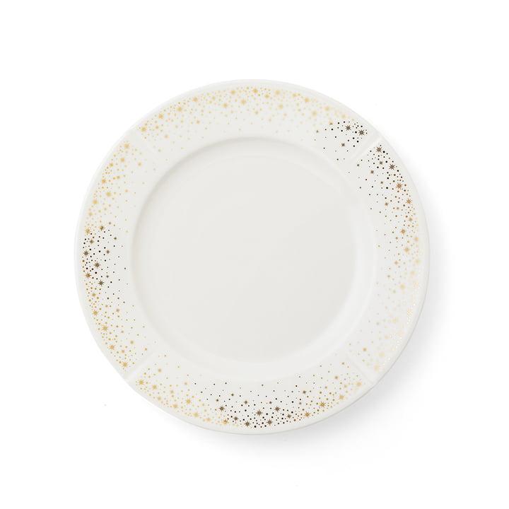 The Grand Cru Moments plate, Ø 23 cm, white / gold by Rosendahl