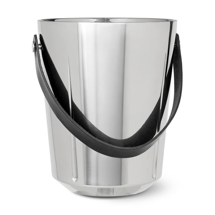 Grand Cru champagne cooler, H 33 X Ø 19.5 cm, stainless steel by Rosendahl