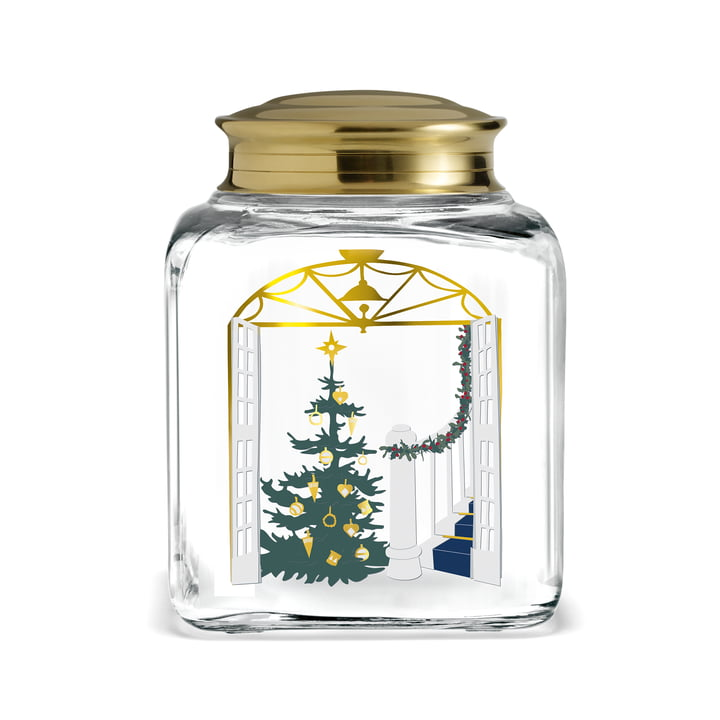 Christmas biscuit jar 2020 from Holmegaard