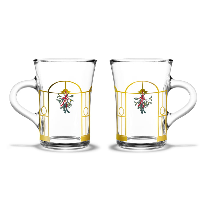 The Hot Drink Christmas glasses (set of 2), 24 cl from Holmegaard