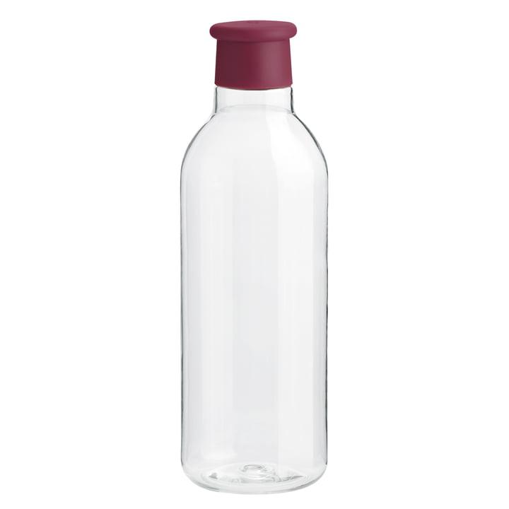 Rig-Tig by Stelton - Water Drink-It bottle 0.75 l, aubergine