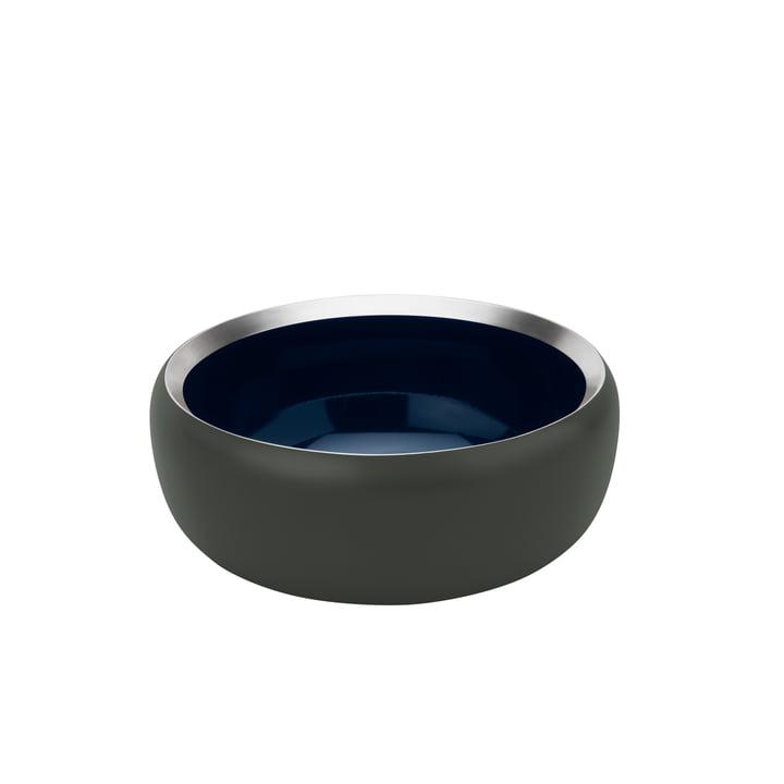The Ora bowl Ø 15 cm, dark forrest / midnight blue from Stelton