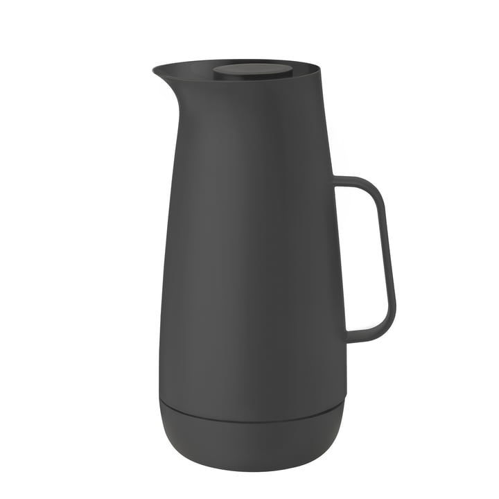 The Foster vacuum jug, 1 l, anthracite from Stelton