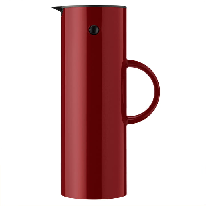The vacuum jug EM 77, 1 l warm maroon from Stelton