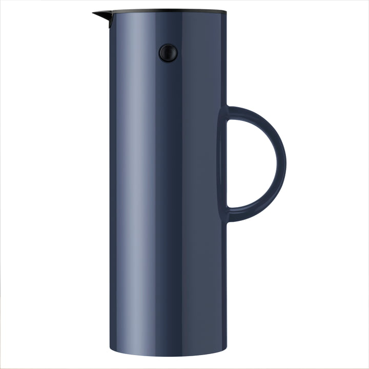The vacuum jug EM 77, 1 l, midnight blue from Stelton