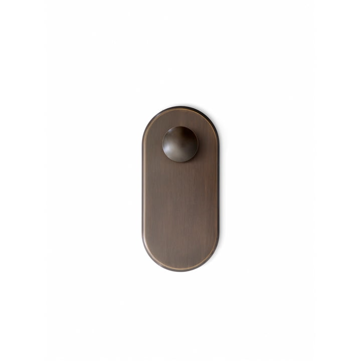 The Collect wall hook SC46, bronze from & tradition