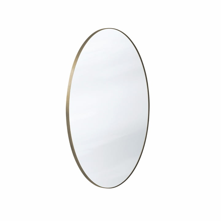 The Amore mirror SC56 Ø70 cm, bronze / silver from & tradition