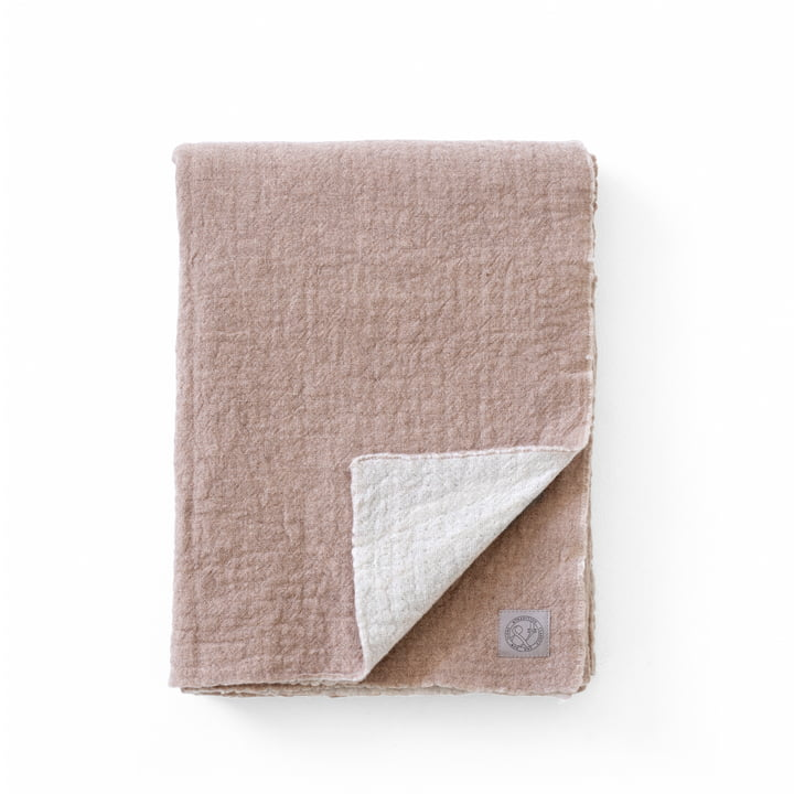 The Collect SC34 wool blanket, 130 x 180 cm, cloud / hazel from & tradition