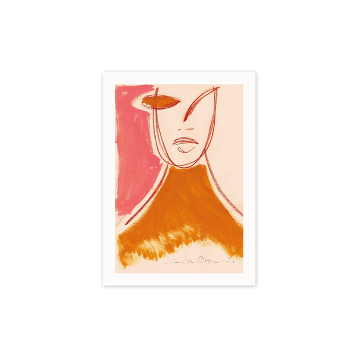 The Pink Portrait poster, 30 x 40 cm of Paper Collective